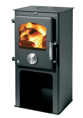 Newton 5kW stove with pedestal